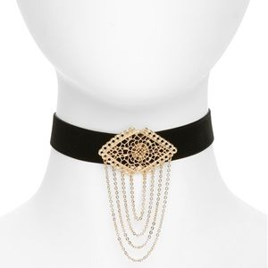 BP. Filigree Choker Necklace